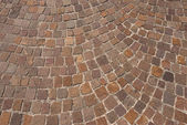 Porphyry Stone Floor - Sanpietrini or sampietrini — Stock Photo