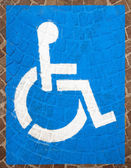 Handicap Parking Spots — Stock Photo