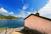 Church in Bonassola - Liguria - Italy — Stock Photo