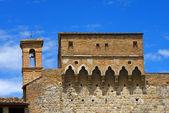Porta San Giovanni - San Gimignano Italy — Stock Photo