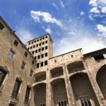 Palau Reial Major - Barcelona Spain — Stock Photo #51257403