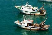 Trawler Fishing Boat - Liguria Italy — Stock Photo