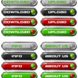 Set Web buttons n. 1 — Stock Photo #8059718