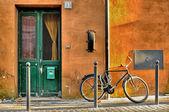 Bike in rural aftheroon — Foto de Stock