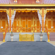 Front of the royal cremation place - Stock Photo