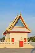 Belo templo de budismo tailandês — Foto Stock