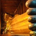 Reclining buddha statue — Stock Photo #13256352