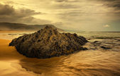 Rock plage - vallée de natures — Photo