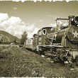 "Stock Photo: ""War locomotive"""