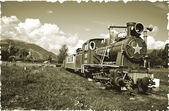 """War locomotive"" — Stock Photo"