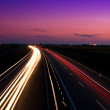 Cars speeding on a highway — Stock Photo #6810182