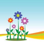 Flower for background — Stock Vector