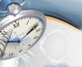 壁紙時計の背景 — ストック写真