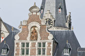 Sint Niklaas city in Belgium with the biggest marketplace — Stock Photo