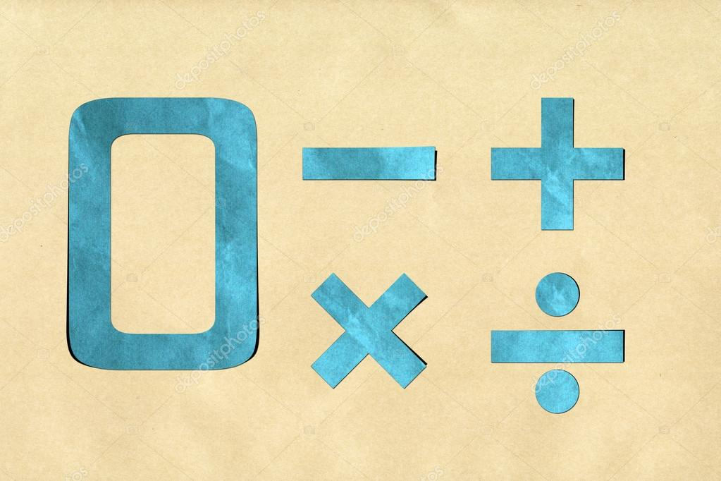 Number recycled paper craft stick on background 0  Stock Photo #12310039