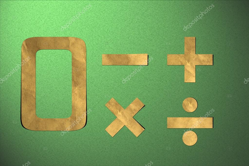 Number recycled paper craft stick on background 0 — Stock Photo #12310062