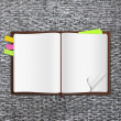 Notes book - Stockfoto