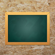 Blank chalkboard — Stock Photo