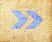 Background with arrow — Stock Photo