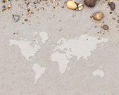 World map — Stock Photo
