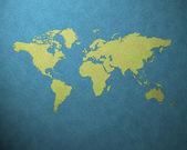 World map — Stock Photo