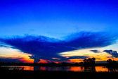Pôr do sol no Rio — Fotografia Stock