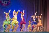 MegaDance dance contest, Minsk, Belarus — Stock Photo