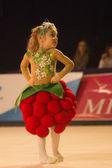 Baby-vm 2013 rytmik-tävling i minsk, vitryssland — Stockfoto