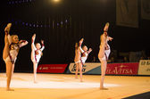 Baby-Cup 2013 rhythmics contest in Minsk, Belarus — Stock Photo