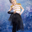 Young little girl in dance costume — Stock Photo #39343367