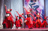 """Global Dance"" competitions in choreography , 16 February 2014 in Minsk, Belarus. — Stock Photo"