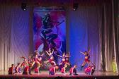 """Concursos """"danza global"""" en coreografía, 16 de febrero de 2014 en minsk, Belarús. — Foto de Stock"""
