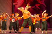 Competitions in choreography in Minsk, Belarus — Stock Photo