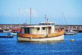 Brown boat 1 — Foto de Stock