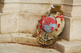 Gibraltar wreath — Stock Photo