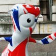 Mandeville mascot — Stock Photo