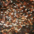 Stock Photo: Pennies