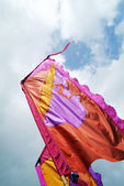 Silky flags — Stock Photo