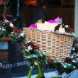 Stock Photo: Christmas Basket