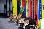 Calle café — Foto de Stock