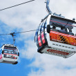 Thames cable car — Stock fotografie