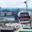 Thames cable car — 图库照片
