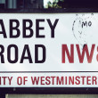 Abbey Road sign — Stock Photo #26086939
