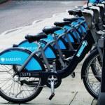 Boris's bikes — Stock Photo