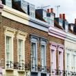 Stock Photo: Colorful facades