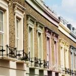 Colorful facades — Stock Photo