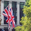 Union Jacks — Stock Photo