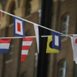 Multinational flags — Photo