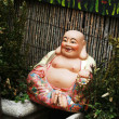 Smiling Buddha — Stock Photo