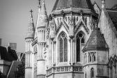 Königliche gerichtshöfe — Stockfoto